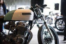 THE HANDBUILT SHOW AUSTIN MOTORCYCLE STEVE WEST THE SELVEDGE YARD CUSTOM LIFE MOTORCYCLES HONDA