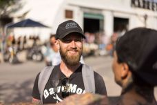 THE HANDBUILT SHOW AUSTIN MOTORCYCLE STEVE WEST THE SELVEDGE YARD DAVOMOTO