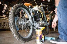 THE HANDBUILT SHOW AUSTIN MOTORCYCLE STEVE WEST THE SELVEDGE YARD FLAT TRACK RACE BUILDER