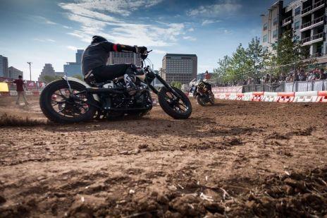 THE HANDBUILT SHOW AUSTIN MOTORCYCLE STEVE WEST THE SELVEDGE YARD FLAT TRACK RACE