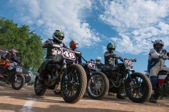 THE HANDBUILT SHOW AUSTIN MOTORCYCLE STEVE WEST THE SELVEDGE YARD FLAT TRACK RACERS