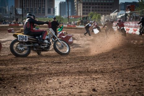 THE HANDBUILT SHOW AUSTIN MOTORCYCLE STEVE WEST THE SELVEDGE YARD FLAT TRACK RACES
