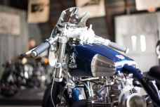 THE HANDBUILT SHOW AUSTIN MOTORCYCLE STEVE WEST THE SELVEDGE YARD IACONA CUSTOM CYCLES TRIUMPH