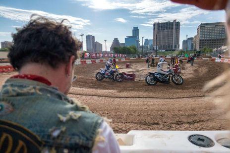 THE HANDBUILT SHOW AUSTIN MOTORCYCLE STEVE WEST THE SELVEDGE YARD PAUL DORLEANS