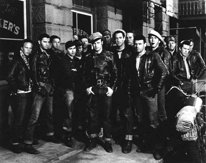 the wild one marlon brando tsy the selvedge yard triumph and disaster greaser getdown