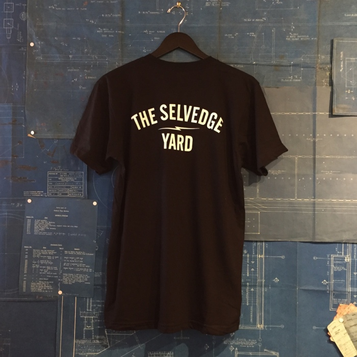 TSY THE SELVEDGE YARD GREASER MICK T-SHIRT NICK THE TAILOR BACK
