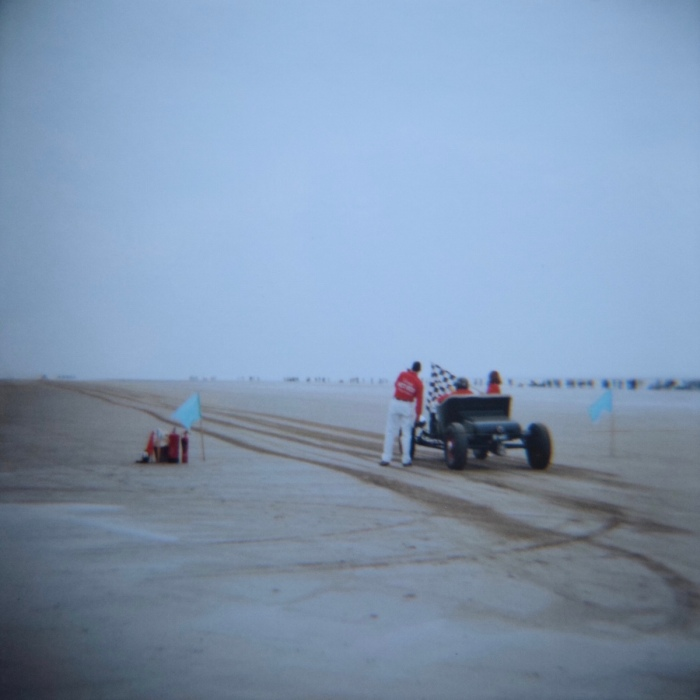 TSY THE SELVEDGE YARD PENDINE SANDS HOT ROD RACES JUNGLE PAT 13