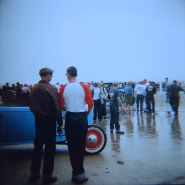 TSY THE SELVEDGE YARD PENDINE SANDS HOT ROD RACES JUNGLE PAT 16