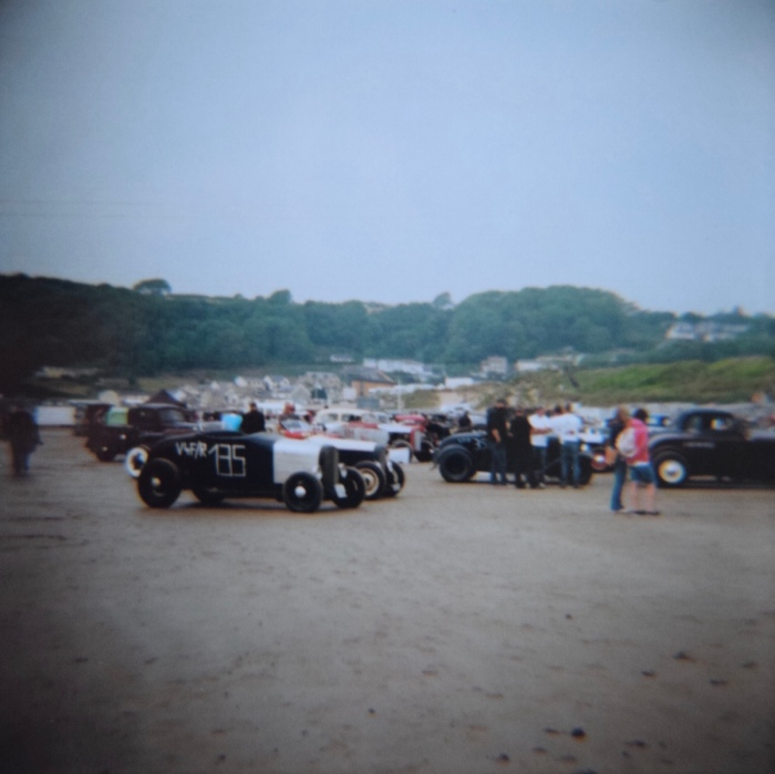 TSY THE SELVEDGE YARD PENDINE SANDS HOT ROD RACES JUNGLE PAT 7