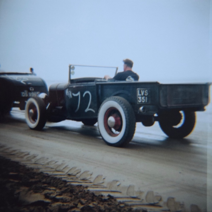 TSY THE SELVEDGE YARD PENDINE SANDS HOT ROD RACES JUNGLE PAT 9