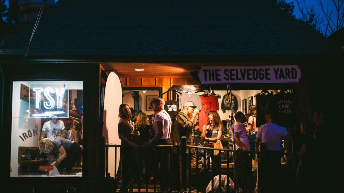 TSY THE SELVEDGE YARD SHOP NEW HOPE TRIUMPH AND DISASTER GREASER GETDOWN