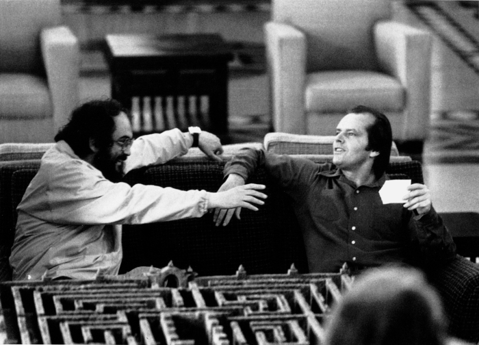 STANLEY KUBRICK JACK NICHOLSON THE SHINING ORIGINAL HEDGE MAZE MODEL.jpg