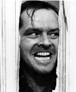 jack nicholson here's johnny the shining