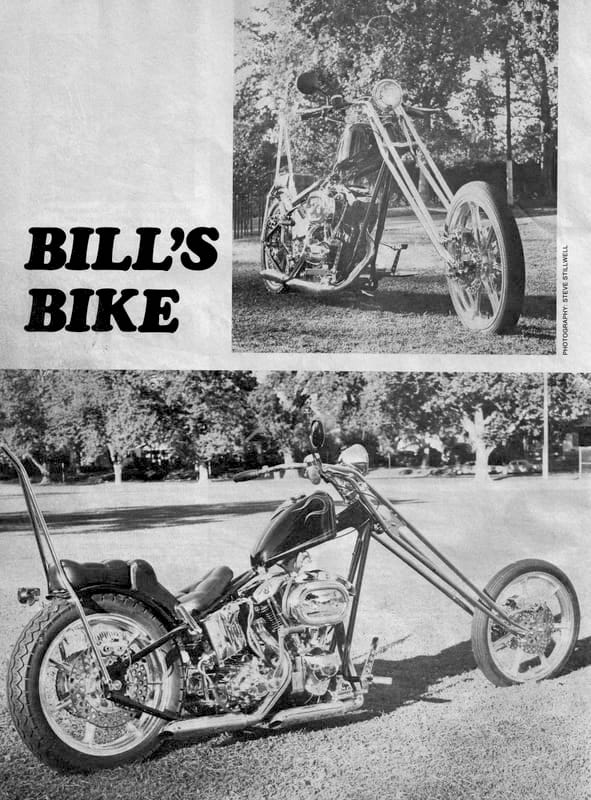 JOHN HARMAN CUSTOM CHOPPER SPIRDER MAGAZINE