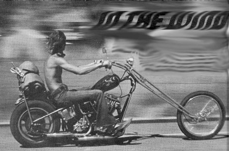 JOHN HARMAN SPIRDER CUSTOM CHOPPER BUILDER SETH OLD PHOTO