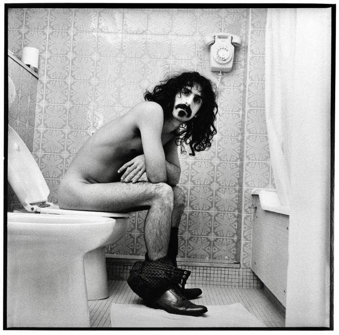 frank zappa krappa toilet robert davidson