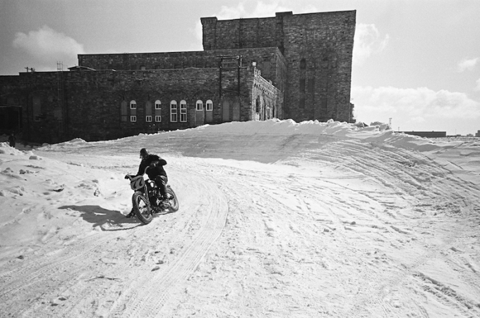STEPHEN M MARINO THE FROZEN FEW TSY THE SELVEDGE YARD HARLEY-DAVIDSON ICE RACING