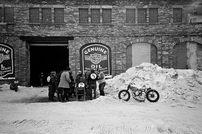 STEPHEN M MARINO THE FROZEN FEW TSY THE SELVEDGE YARD VINTAGE HARLEY-DAVIDSON MOTORCYCLES