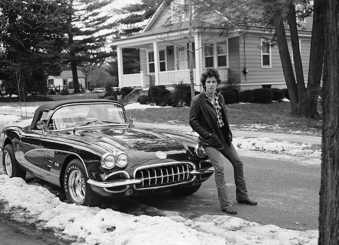 bruce springsteen frank stefanko corvette winter photo