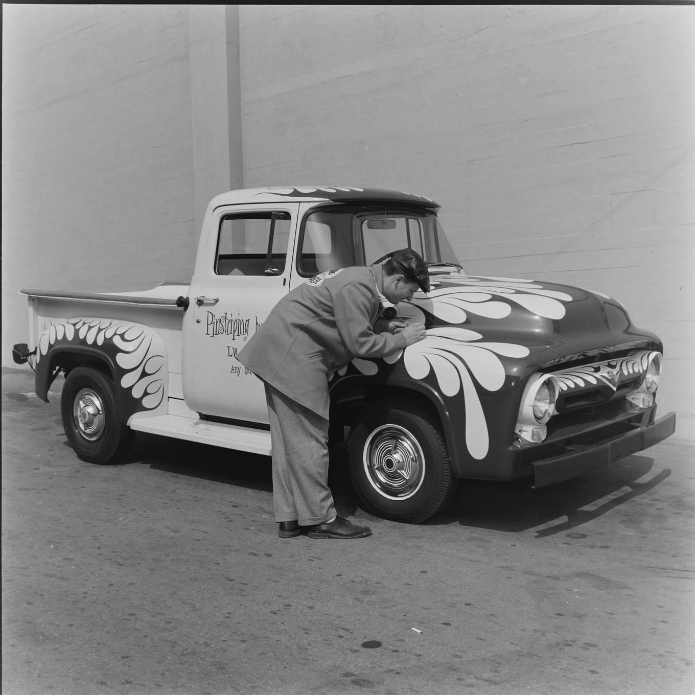 ed roth 1956 ford pickup truck Kustom Kulture paint job