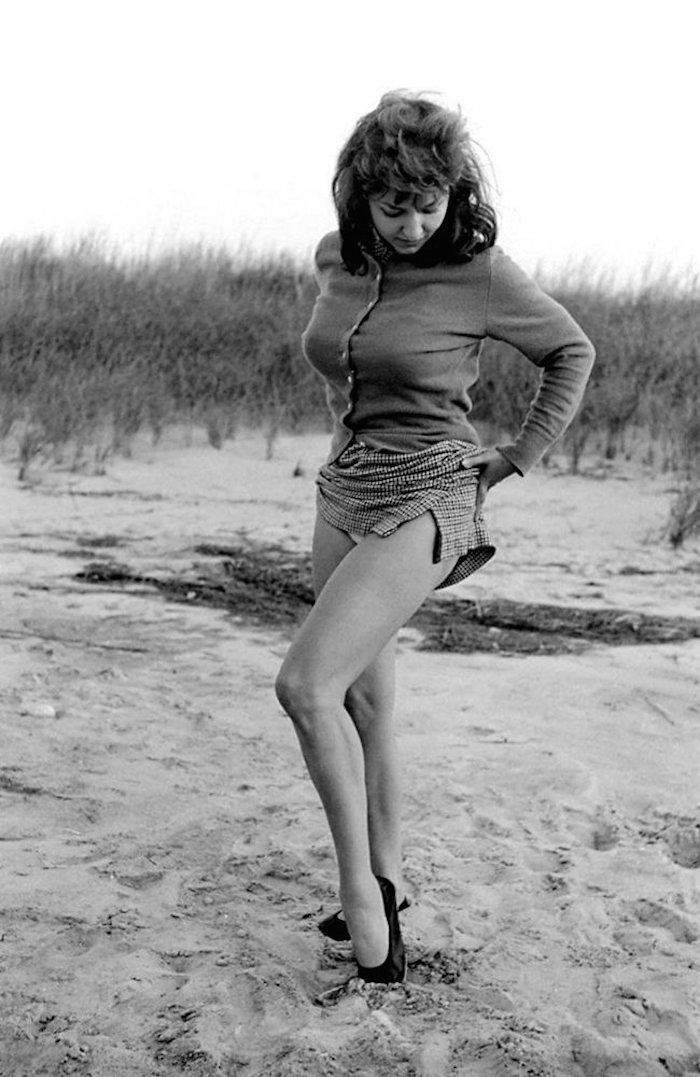 alice denham beach playboy centerfold 1950s 1956