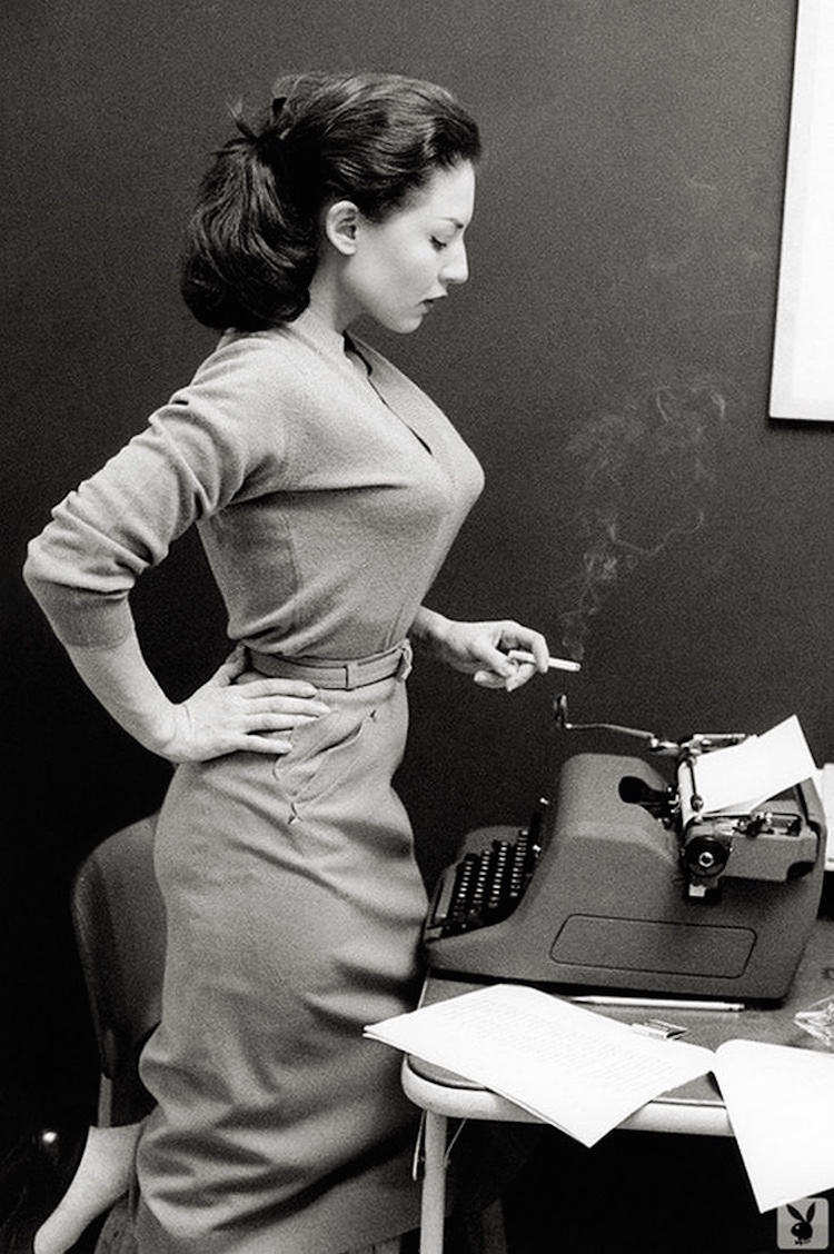 alice denham playboy smoking typewriter.jpg