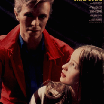 DAVID BOWIE ELVIS CHRISTIANE F
